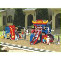 China Kids popular Chinese opera interesting play slide and climbing outdoor playground wholesale