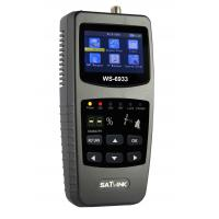 China Hot sales SATLink WS-6933 FTA Satellite Ultra-Fast Compact DVB-S DVB-S2 Signal Satellite Finder Meter WS6933 with Compas wholesale
