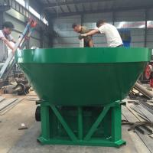 Gold mining wet pan mill Dia1200
