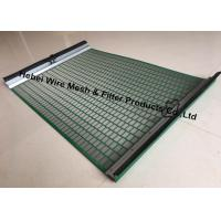 China Durable High Penetration Shale Shaker Screen Triple Layer Laminated Wire Mesh wholesale
