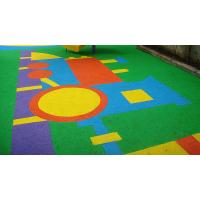 China Anti - Static EPDM Rubber Flooring , Colorful Outdoor Play Area Flooring on sale