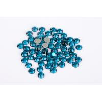 Lead Free Hotfix Crystal Rhinestones High Color Accuracy Wear Resistance