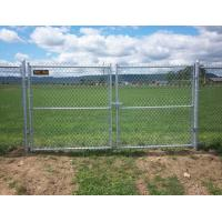 China Multifunctional Galvanized Metal Chain Link Fence With Posts / Installing Accessories wholesale