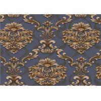 China Classical Damask PVC Vinyl Wallpaper Waterproof For Interior Room Decoration wholesale