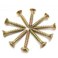 China Metal Chipboard Flooring Screws , Flat  Csk Self Tapping Screw ST2.5 - ST6.0 Thread wholesale