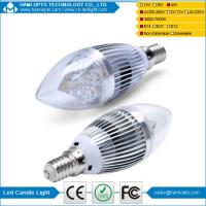 China LED Candle Light 4W E14 , AC85-265V, 3000-3500K, 3 Years warranty, CE&Rohs wholesale