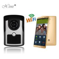 China High Solution Stable Remote Control WIFI Wireless Video Door Bell Internet Video Door Phone With Free APP wholesale