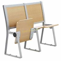 China University / College Classroom Furniture / Student Desk And Chair Without Armrest wholesale