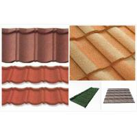Soundproof Double Roman Roof Tiles European Stone Coated