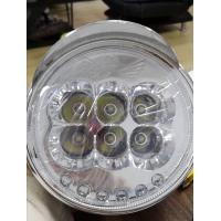 China Tricycle LED Headlight Electric Rickshaw Parts Bright 501-800W Power Black And White Color wholesale