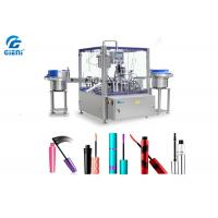 China Rotary Type Automatic Cosmetic Filling Machine PLC Control 1-30ml Capacity wholesale