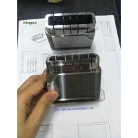 Buy cheap Precision 1.2343 Steel Injection Mold Components Cavity Inserts With Cavity No from wholesalers