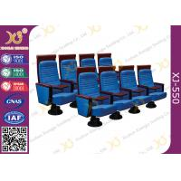 China High Imported Hardwood Back School Concert Hall Seating / Church Folding Chairs wholesale