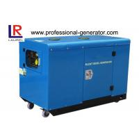 Buy cheap CE Silent Diesel Generator Set 10kv with AC Three Phase , Four Color Available from wholesalers