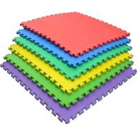 China 2cm Non Toxic Play Mat / Soft EVA Interlocking Foam Floor Mats Color Customized wholesale