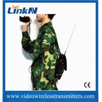 China Wireless HD Video COFDM Transmitter 2-Way Voice Intercom for Police wholesale