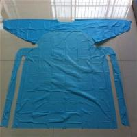 China Customized Hospital Disposable Medical Aprons With Sleeves Anti Dust / Blood wholesale