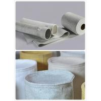 China Dust Treatment Industrial Filter Cloth / Dust Collector Filter Bag Material wholesale