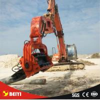 China Beiyi v330 pile hammer equipment vibratory sheet pile driver for all excavators on sale