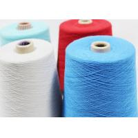 China 100% Virgin Poly Yarn Thread , Spun Sewing Polyester Thread Good Fastness wholesale