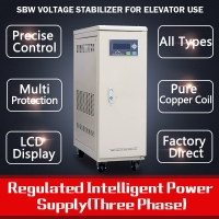 China Voltage Stabilizer 30 kVA Three Phase for Elevator Specific wholesale