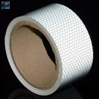 "China Semi Trailer Wide Transparent Reflective Tape High Intensity Glass Bead 2"" x 30' Roll wholesale"