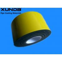 China EN 12068 Polyethylene Corrosion Resistant Tape / Yellow Pipe Wrapping Tape wholesale
