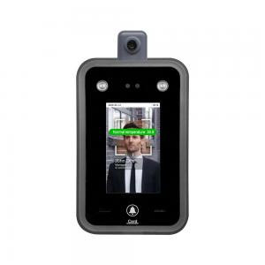 China 8 inch Touch Screen Face Access Control Face Recognition Time Attendance with Thermal Temp Detector wholesale