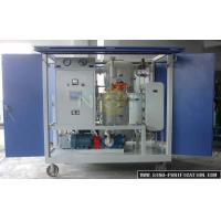 China Movable Automatic Vacuum Oil Purifier With PLC Control Fully Touch Screen Flow Monitoring wholesale