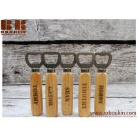 China wooden bottle openers Wholesale good quality wood handle bottle openers wholesale