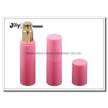 China Pink 25 Ml Airless Pump Bottles Transparent Airless Pump Bottle wholesale