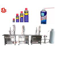 Buy cheap Aerosol Spray Can Filling Machine from wholesalers