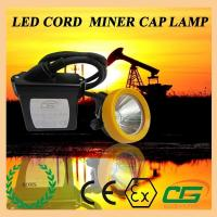China 15000lux Waterproof LED Mining Light ATEX Portable , 6.5Ah Miners Helmet wholesale