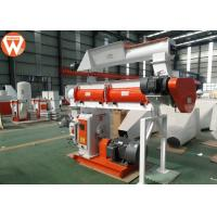 China 150kw Pellet Production Equipment , Stable Performance Farm Industry Feed Pellet Plant wholesale