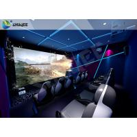 China Gaming Room Luxury 5D movie theater seats With Dynamic Effects wholesale