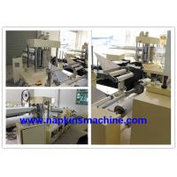 China Two Layer Paper Napkin Machine , 3300mm Tissue Paper Napkin Making Machine wholesale
