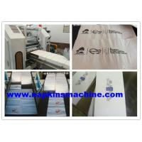 China High Speed Automatic Paper Napkin Embossing Machine 200mm - 400mm Width wholesale