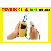 China Small Portable Pulse Oximeter Pulse Fingertip Oximeter Yellow Low Battery Prompt wholesale