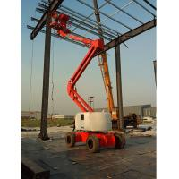 China Diesel Articulating Boom Lift Reaching15m Platform Height with Perkins Engine GTZZ15 wholesale