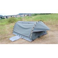 China 4WD Swag 1 Person Canvas Tent Fire Prevention Fabric Material For Outdoor Entertainment wholesale
