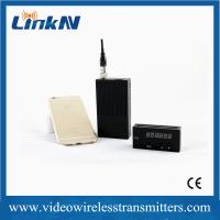 China Handheld COFDM Transmitter with HDMI Video Input , Front-end Staff wholesale