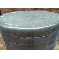 China Galvanized Iron Wire Knitted Mesh 100mm Thick Rolls Ready Packed For Shipping on sale