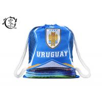 China World Cup Uruguay Team  Drawstring Shoulder Bag Shopping Outdoor Travel wholesale