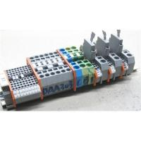 China Din Rail Terminal Block with Spring-Cage Clamp Connection wholesale