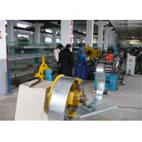 China Gear Driving Rolling Shutter Strip Forming Machine 6~8m/min Galvanized Steel wholesale