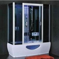 China Modern Rectangular Shower Enclosure With Sliding Door Steam Room And Shower Combo wholesale