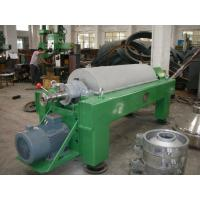 China Antifriction Horizontal Decanter Centrifuge Anticorrosion Stainless Helical Pusher wholesale