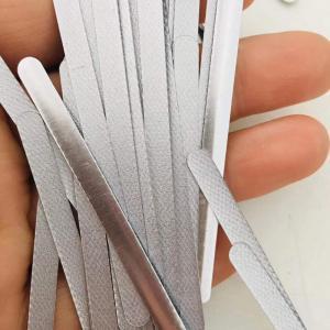 China 4.0mm Self Adhesive Aluminium Inlay Strips Nose Wire Bridge wholesale