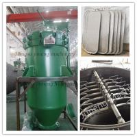 Buy cheap Automatic Discharge Pressure Vertical Leaf Filter Press Equipment  High Efficiency from wholesalers