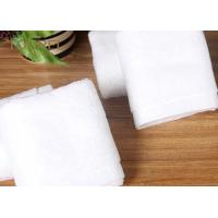 China Customized Hotel Face Towel White 100% Organic Cotton Bulk wholesale